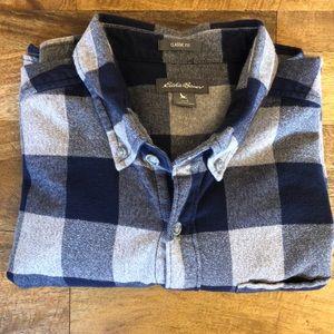 Eddie Bauer Men's Shirt 100% Cotton